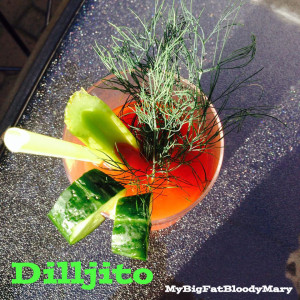 dilljito bloody Mary recipe