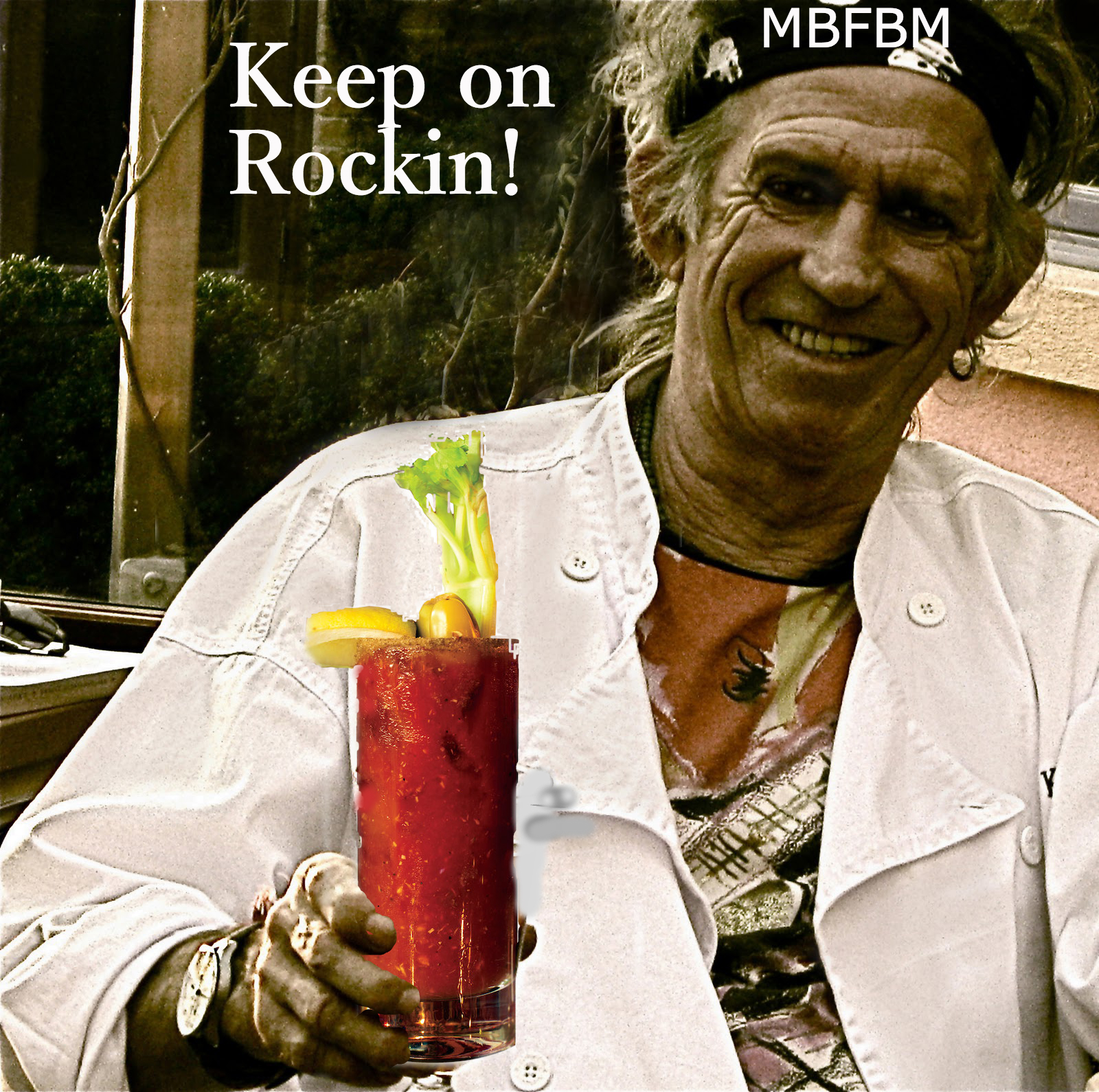 Keith Richards Bloody Mary