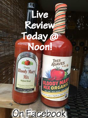 live review tres agaves and Forest Floor bloody Mary mixes