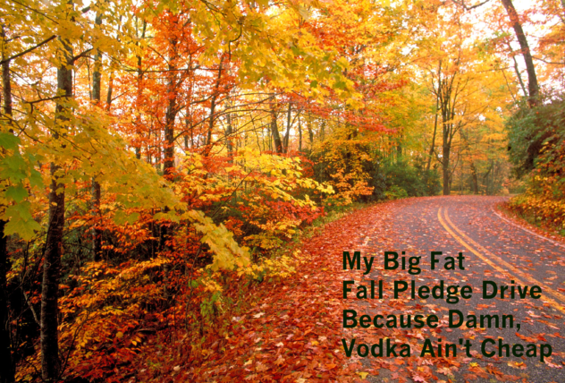 My Big fat Bloody Mary Podcast Fall Pledge Drive