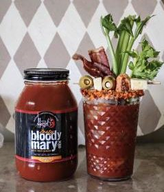 Amazing Hazel's Zesty Bloody Mary Mix with Ginger