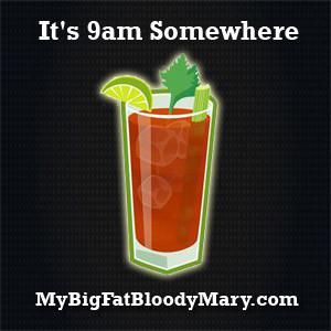 Bloody Mary Sticker
